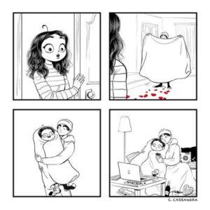 Provas de amor e outros quadrinhos de C. Cassandra
