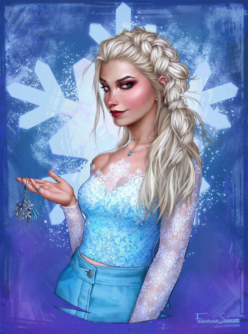 Rainha Elsa