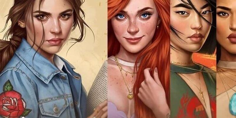 Tem Na Web - Artista recria princesas da Disney em versão atual
