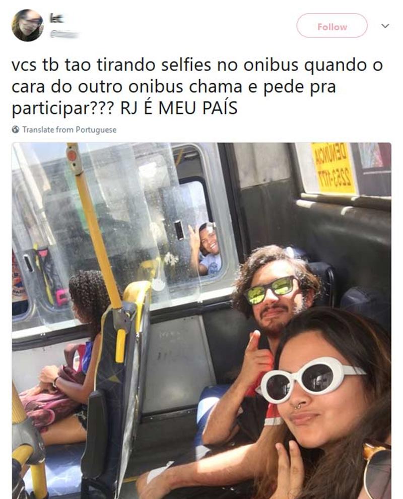 Selfie com participação especial