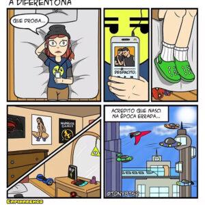 Uma mulher perdida e outros quadrinhos divertidos