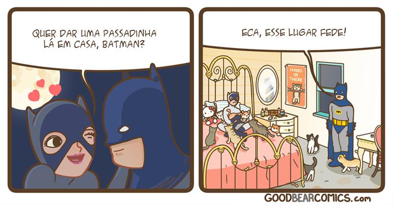 Batman e um convite sensual