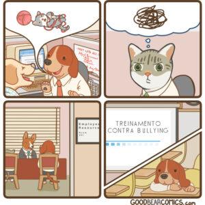 Bullying com animais e outros quadrinhos divertidos