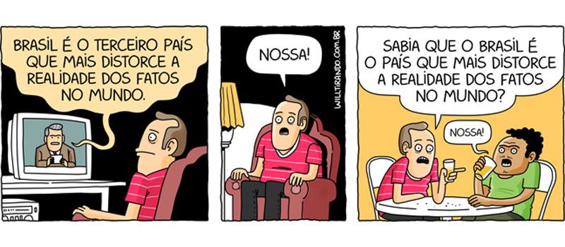 Mentiras no Brasil