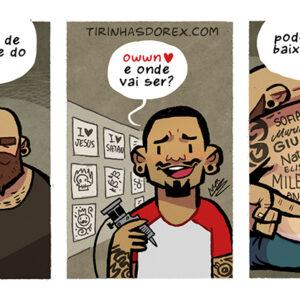 Tatuagem com o nome da ex e outras artes divertidas