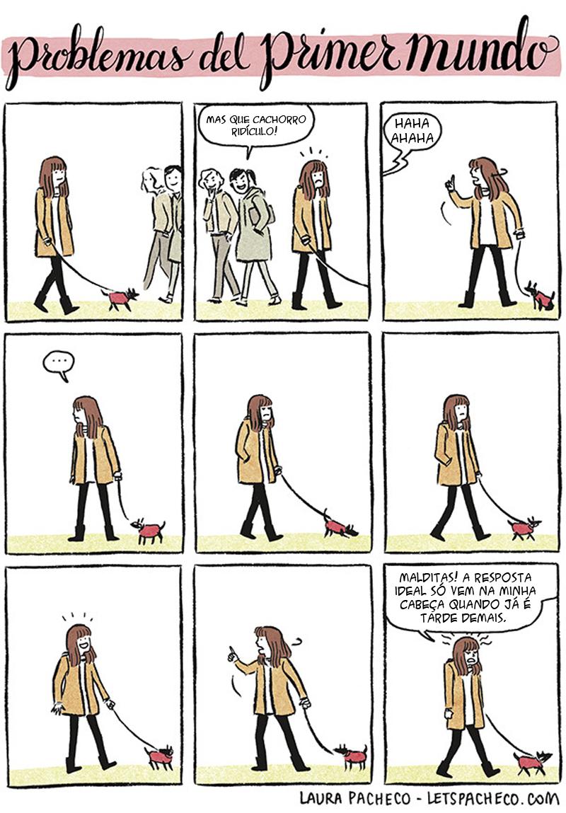 A resposta que uma mulher precisa dar e outros quadrinhos notáveis
