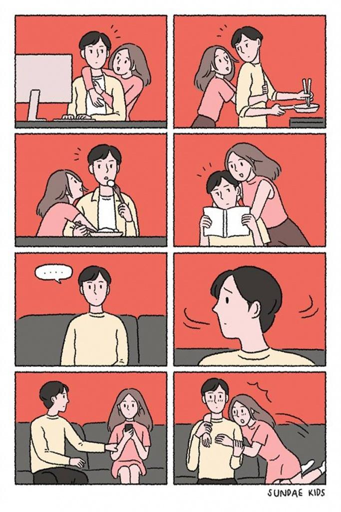 fofura em quadrinhos