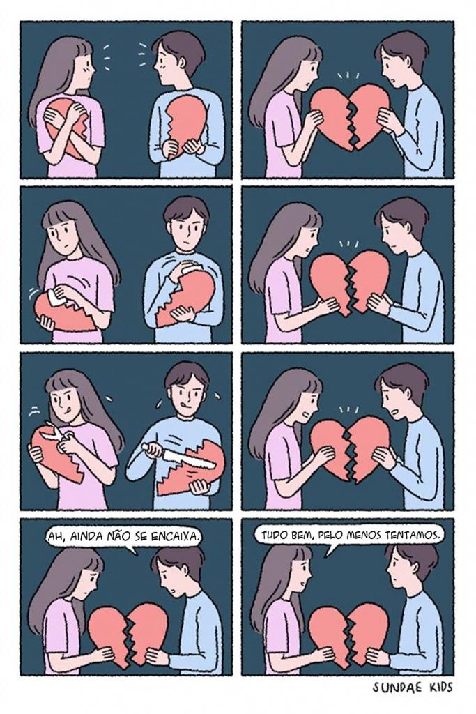 quando o relacionamento não dá certo