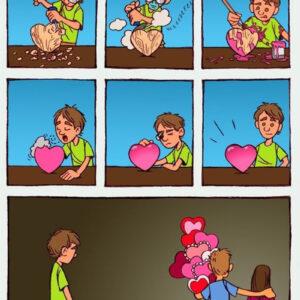 Entregando o coração para a pessoa errada