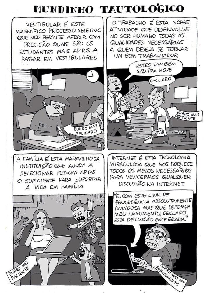 burrice em quadrinhos
