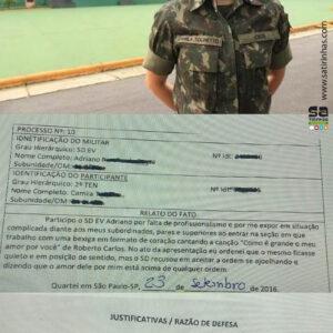 A linda Oficial do Exército que provocou um crime terrível