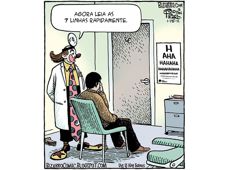 O médico que é um verdadeiro palhaço