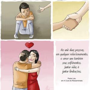 O amor de verdade une duas pessoas imperfeitas