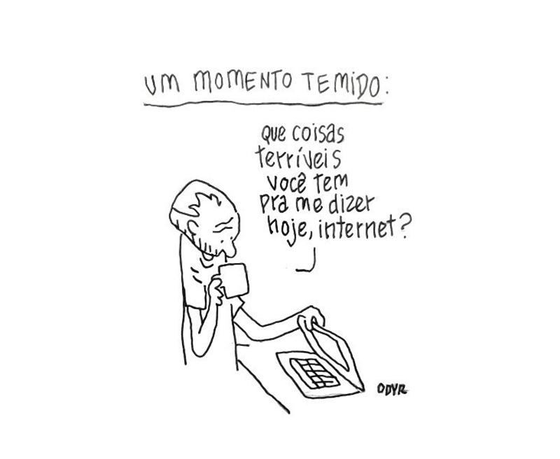 Medo na internet