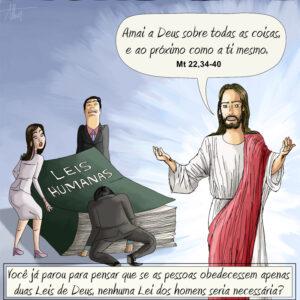 O mundo rejeita Jesus, obedece os homens e depois reclama