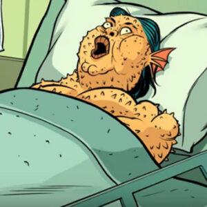 Heróis estranhos e a alergia a camarão