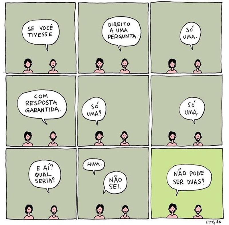 Indecisões e dúvidas