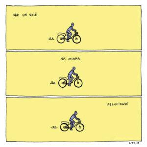Quando o mundo te obriga a acelerar, alguns quadrinhos para pensar