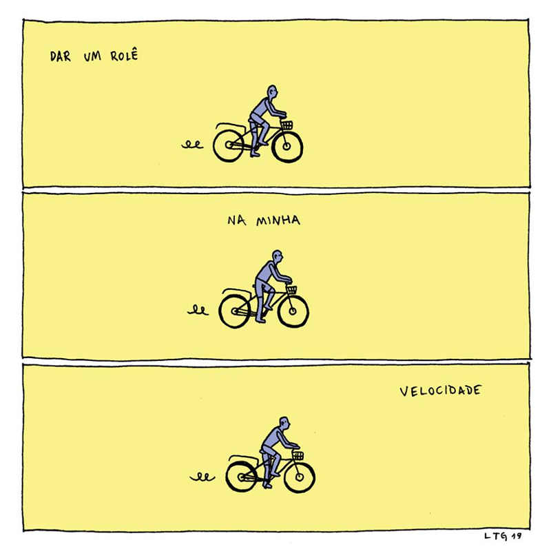 Faça na sua velocidade