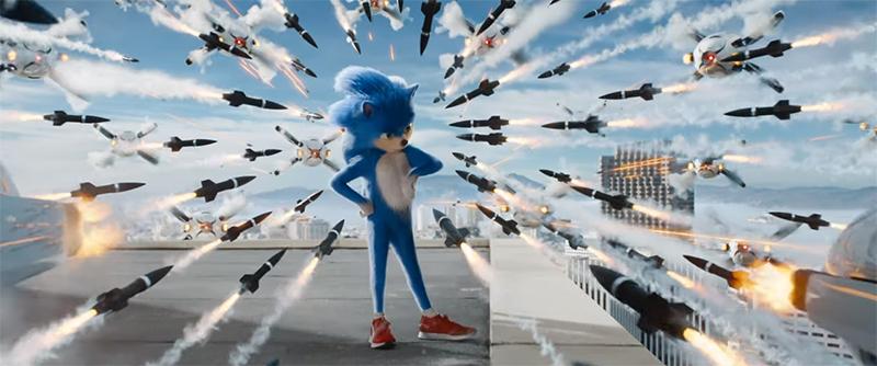 O trailer oficial do novo filme de Sonic e a internet nervosa