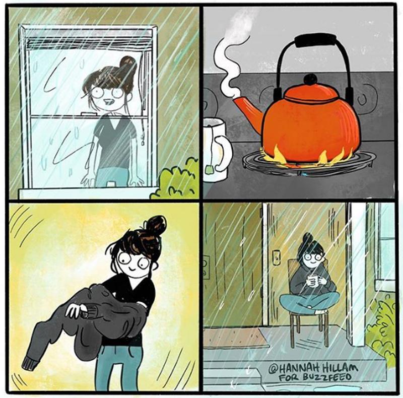 Um dia frio