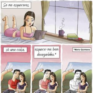 Mário Quintana e o esquecimento de um amor