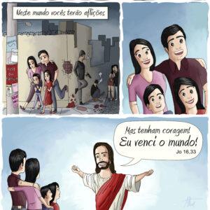 Nossa maior fonte de coragem para enfrentar a vida