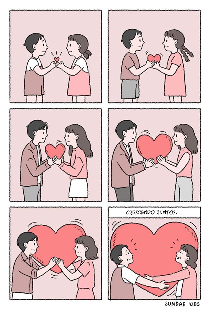Crescendo no amor