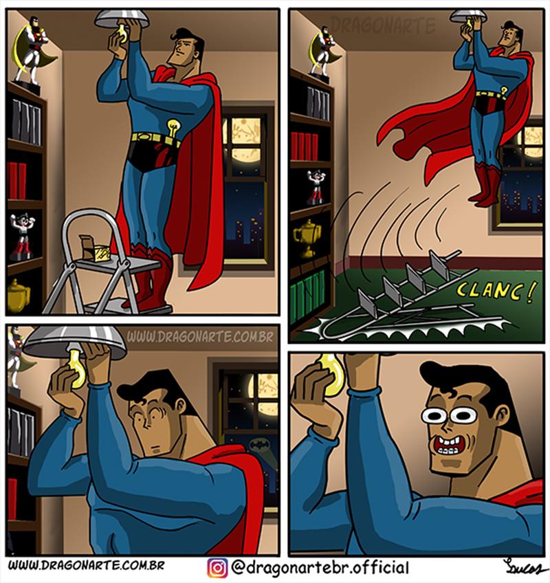 Superman zoeiro
