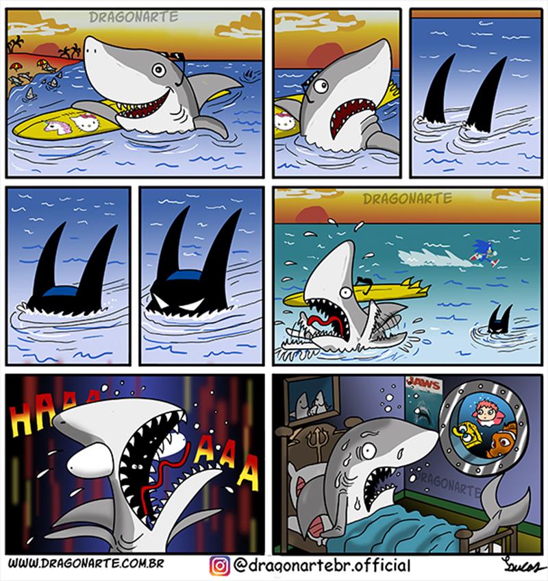 Batman, uma ameaça no mar