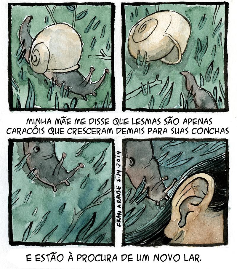 Lesmas no ouvido e outros medos terríveis