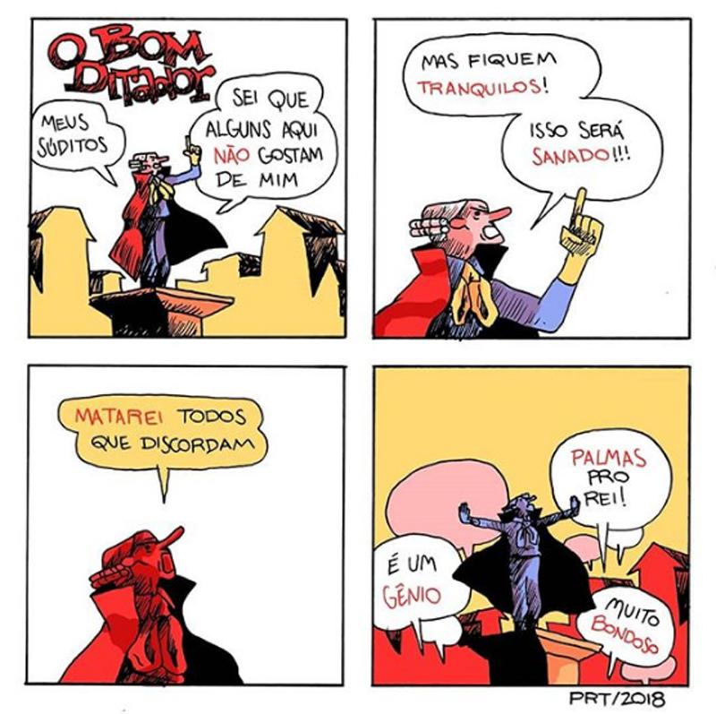 Todos podem discordar do bom ditador