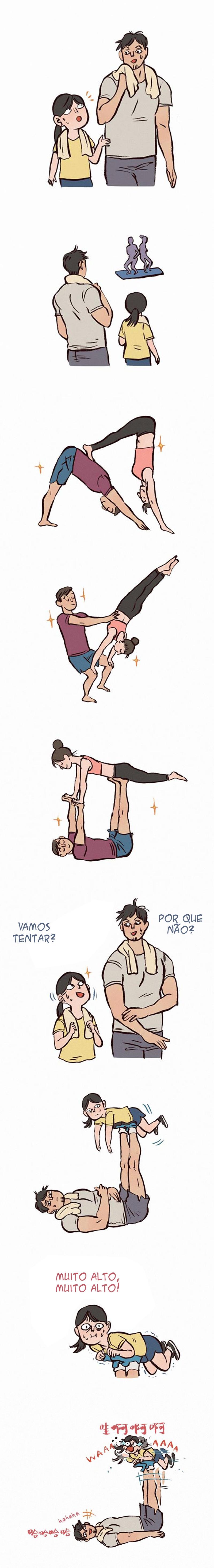 Fazer exercícios físicos acompanhado é muito melhor