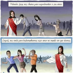 O amor de Jesus precisa ser levado por nós ao mundo