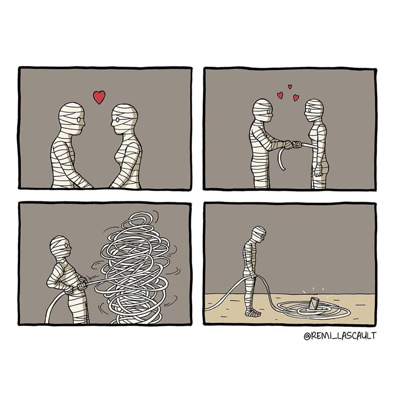 Um amor destrutivo