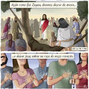 Você precisa deixar Jesus entrar na casa do seu coração