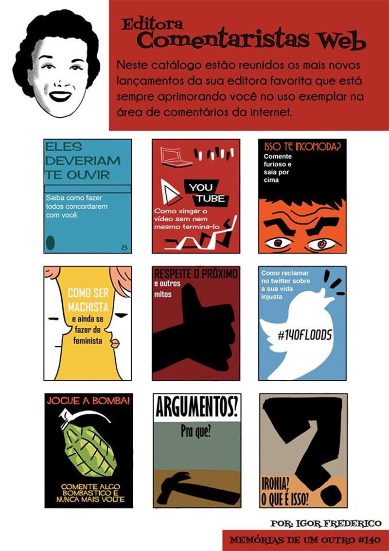 Livros para bons comentários na internet