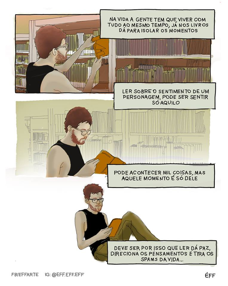 O importante hábito da leitura
