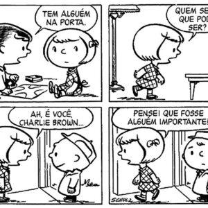 Tadinho do Charlie Brown, só se dá mal