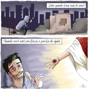 Quando o amor de Deus é ainda maior por você