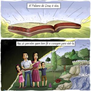 A Palavra de Deus é luz que nos tira da escuridão