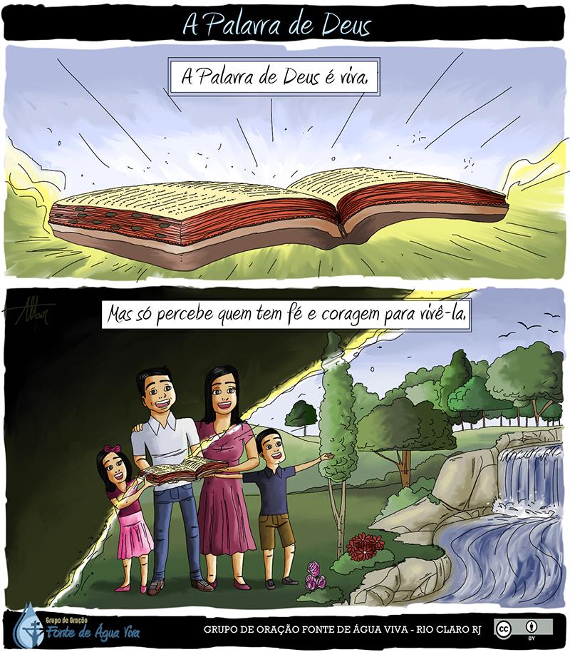 A palavra de Deus é viva