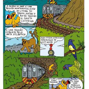 Quadrinhos: aprendendo sobre a natureza com o Tucano Ecologista