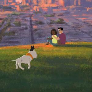 Kitbull, uma linda animação sobre a amizade entre um cão e um gato que me fez chorar