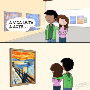 A vida imita a arte e As Crônicas de Wesley imitam o fracasso da humanidade