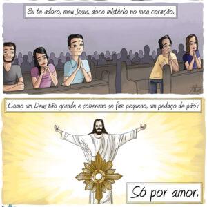 Eu te adoro, meu Jesus, doce mistério no meu coração
