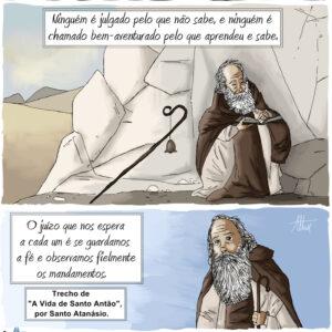 Santo Antão e o juízo que nos espera