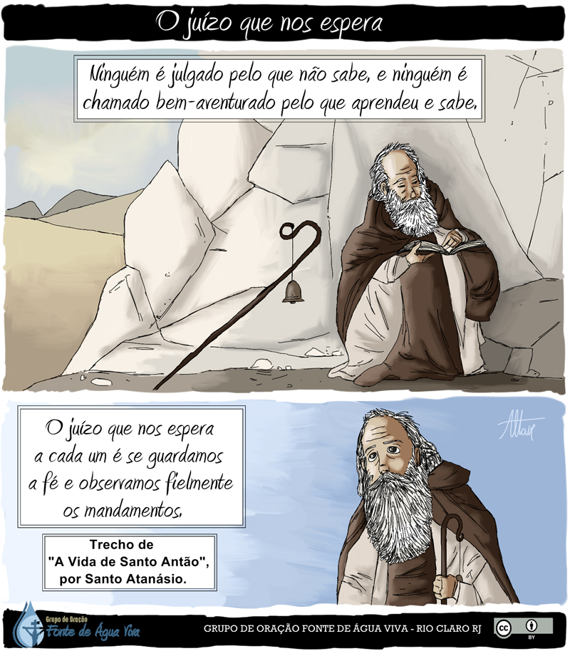 Santo Antão e o Juízo que nos espera.