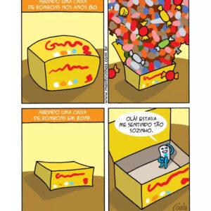 A revolta com a caixa de bombons e outros quadrinhos que incomodam