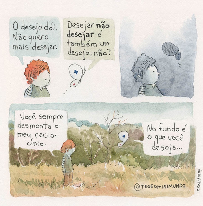 Desejos.